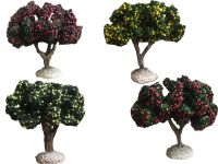 lot d'arbres fruitiers