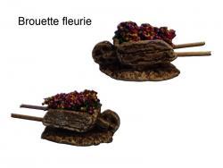 Brouette fleurie  ou lavande